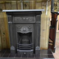 Art Nouveau Cast Iron Fireplace 2031MC Old Fireplaces.