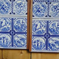 Original Arts and Crafts Fireplace Tiles Arts2035 Old Fireplaces.