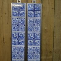 Waterside Fireplace Tiles Arts021