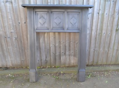 Victorian Cast Iron Stove Surround 2037CS Old Fireplaces.
