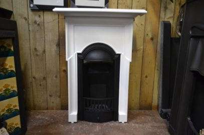 Painted Edwardian Bedroom Fireplace 2043B Antique Fireplace Company.