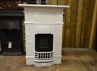 Painted Art Nouveau Bedroom Fireplace 2044B Antique Fireplace Company.