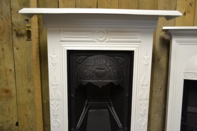 Painted Art Nouveau Bedroom Fireplace 2046B Antique Fireplace Company.