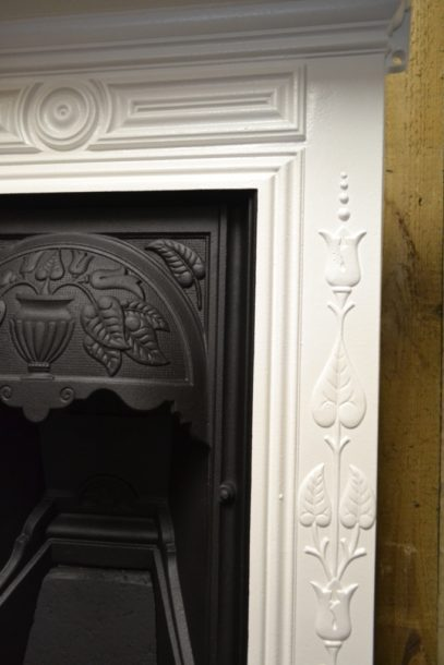 Painted Art Nouveau Bedroom Fireplace 2046BAntique Fireplace Company.
