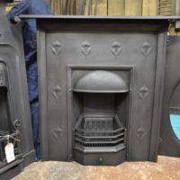 Original Art Nouveau Fireplace 2052LC Antique Fireplace Company.