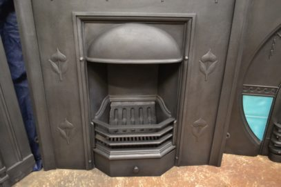 Original Art Nouveau Fireplace 2052LC Antique Fireplace Company.