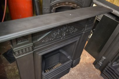 Original'Daisy' Cast Iron Fireplace 2053LC Old Fireplaces.