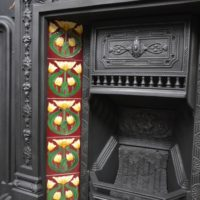 Victorian Primrose Tiled Combination Fireplace 2057TC Oldfireplaces