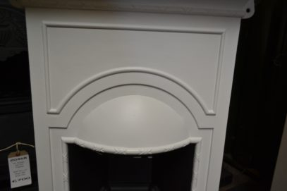 Painted Edwardian Bedroom Fireplace 2063B Old Fireplaces.