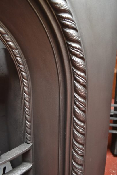 Victorian Cast Iron Arched Insert 2065AI Old Fireplaces