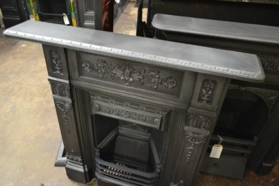 Victorian Cast Iron Combination Fireplace 2066MC Antique Fireplace Company