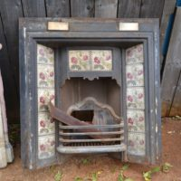 Victorian Tiled Fireplace Insert 2067TI Old Fireplaces