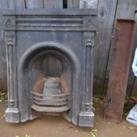 Victorian Cast Iron Fireplace 2068MC Antique Fireplace Company