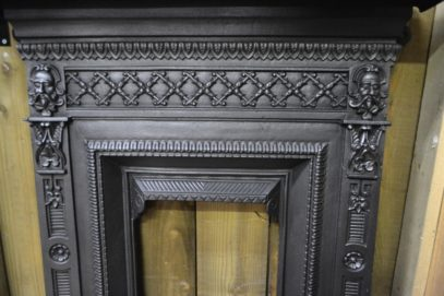 Victorian Bedroom Fireplace Front 2069B Oldfireplaces