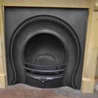 Early Victorian Arched Insert 2080AI Antique Fireplace Company