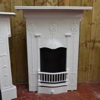 Art Nouveau Bedroom Fireplace - 2054B - The Antique Fireplace Company