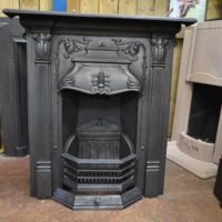 Victorian Art Nouveau Fireplace - 2050MC - The Antique Fireplace Company