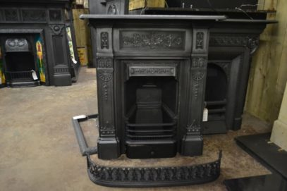 Victorian Cast Iron Combination Fireplace - 2066MC - The Antique Fireplace Company