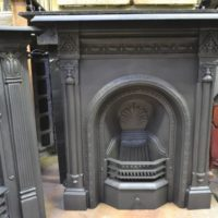 Victorian Cast Iron Fireplace - 2068MC - The Antique Fireplace Company