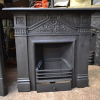Victorian Daisy Fireplace - 2053LC - The Antique Fireplace Company