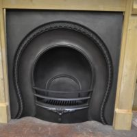 Victorian Horseshoe Arched Insert - 2080AI - The Antique Fireplace Company