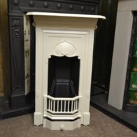 Painted Edwardian Art Nouveau Fireplace 2058B Antique Fireplace Company