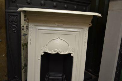 Painted Edwardian Art Nouveau Fireplace 2058B Antique Fireplace Company
