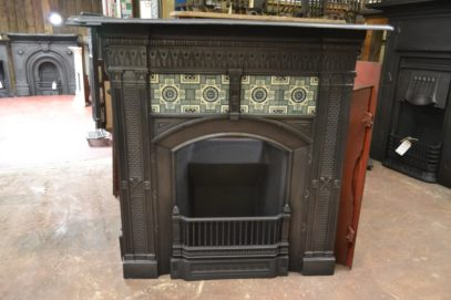 Victorian Tiled Fireplace 2087TC Old Fireplaces.
