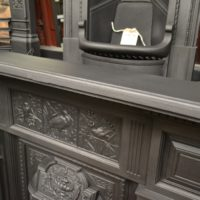 Victorian Cast Iron Fireplace 2089LC Old Fireplaces