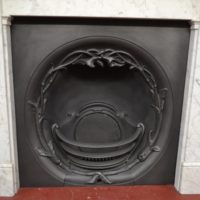 Early Victorian Cast Iron Grate 2090I Antique Fireplace Company