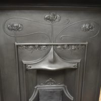Original Art Nouveau Fireplace 2091MC Oldfireplaces