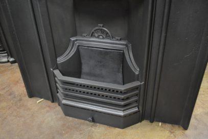 Original Art Nouveau Fireplace 2091MC Oldfireplaces