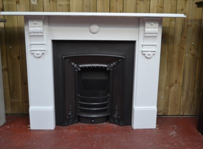 Painted Victorian Slate Fire Surround 2092SS Antique Fireplace Company