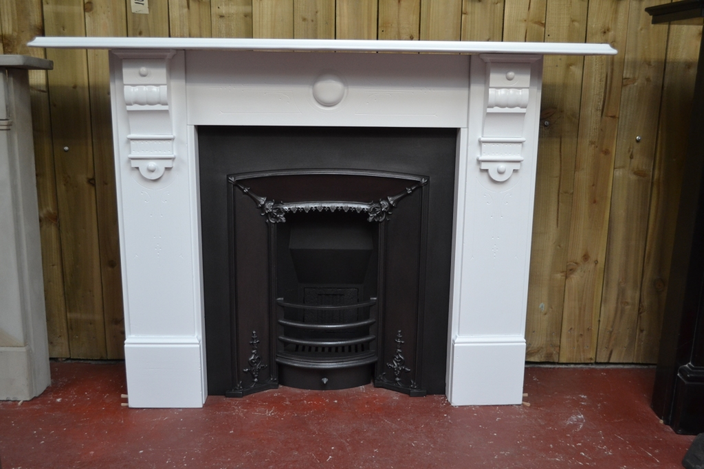Victorian Slate Fireplace Surround 2092ss Antique