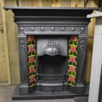 Edwardian Art Noveau Tiled Combination 2093TC Old Fireplaces