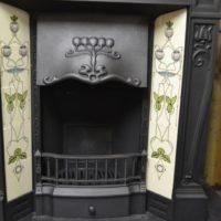Edwardian Art Nouveau Fireplace 2093TC Oldfireplaces