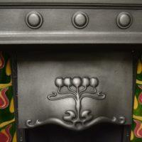 Edwardian Art Noveau Tiled Combination 2093TC Old Fireplaces