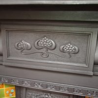 Edwardian Art Nouveau Fire Surround 2098CS Antique Fireplace Company