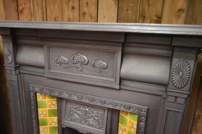 Edwardian Art Nouveau Fire Surround 2098CS Antique Fireplace Company