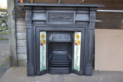 Art Nouveau Fire Surround 2098CS - Oldfireplaces