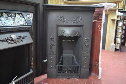 Pretty Art Nouveau Bedroom Fireplace 2099B Oldfireplaces