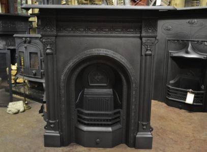 Victorian Cast Iron Fireplace 3000MC Antique Fireplace Company