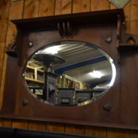Antique Arts & Crafts Mirror 3001M Oldfireplaces