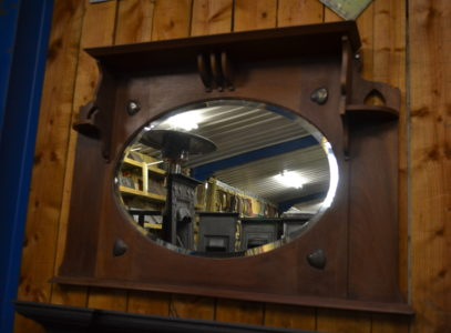 Antique Arts & Crafts Mirror 3001M Oldfireplaces