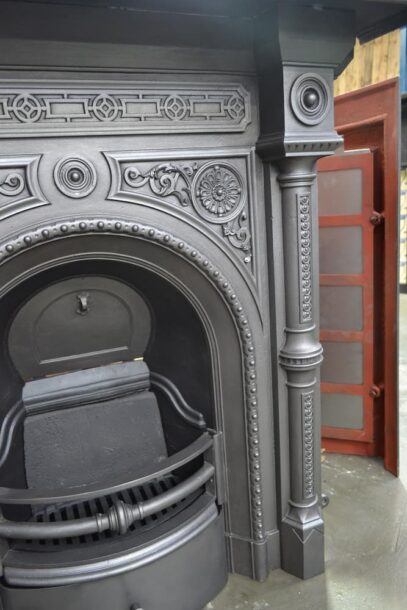 Victorian Fireplace with columns 4255LC - Oldfireplaces