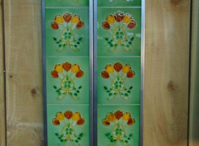Original Art Nouveau Fireplace Tiles AN029 Antique Fireplace Company.