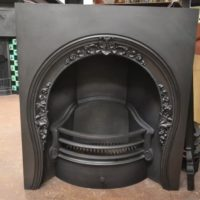 Early Victorian Arched Insert - 2085AI - The Antique Fireplace Company