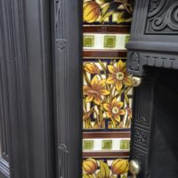 Original Victorian Fireplace Tiles V093 Old Fireplaces