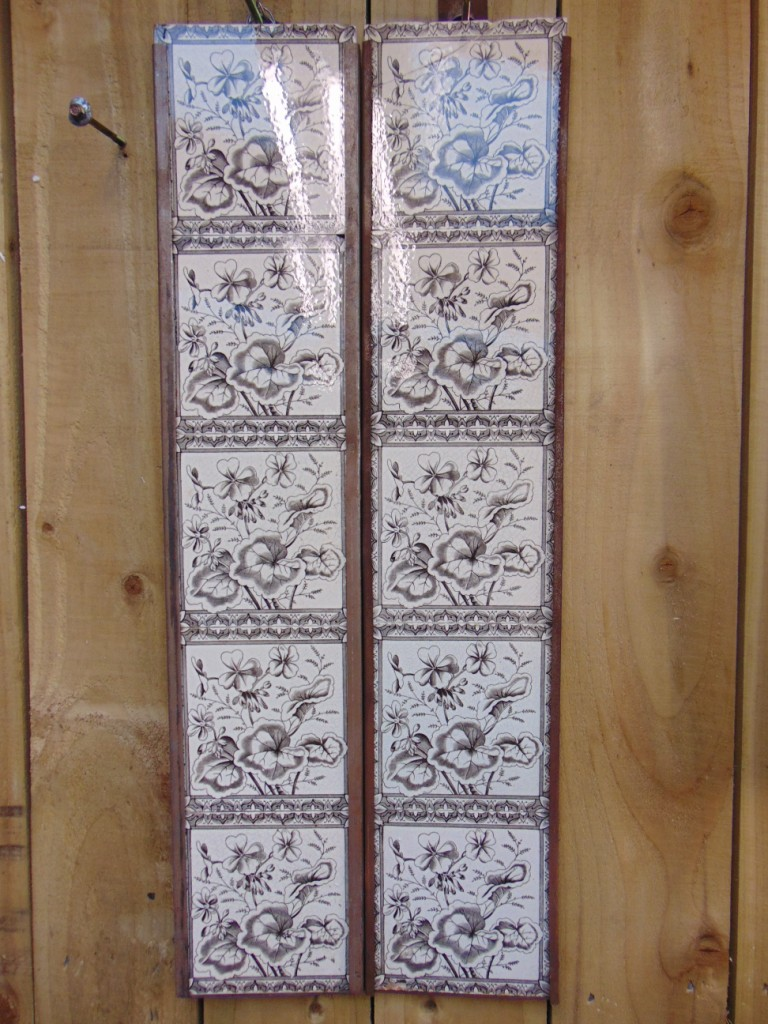 Victorian Fireplace Tiles V094 Antique Fireplace Co