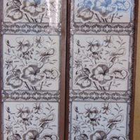 Original Victorian Fireplace Tiles V094 Antique Fireplace Company